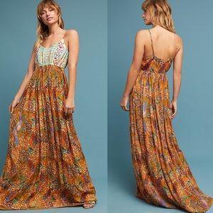 Raga Parkland Maxi Dress Anthropologie NWT M